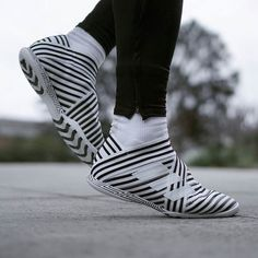 These are my favourite court shoes at the moment the black and white is too fresh What do you think dope or nope? #nemeziz