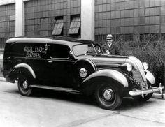 1937 Hudson Terraplane panel