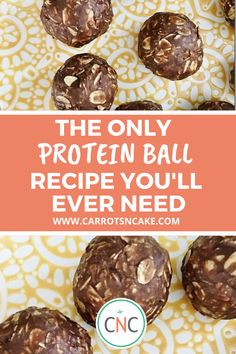 Look no further, this is the only protein ball recipe you will ever need! Quick, easy, and nutritious this is the prefect recipe for a snack or quick breakfast. Packed with protein great for keto and macro diets. Protein Packed Snacks, Healthy Protein Snacks, Protein Cake, Best Protein, Protein Cookies, Diet Snacks, Protein Nutrition, Protein Muffins, Protein Foods