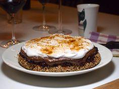 Suklainen mustikkakakku (G, M, V, P) Wellberries (Mustikka-suklaakakku kookoskermalla)