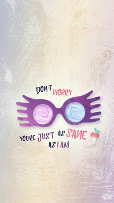 Luna lovegood spectrespecs free wallpaper harry potter more, harry potter quotes, hp quotes, Memes Do Harry Potter, Fans D'harry Potter, Arte Do Harry Potter, Harry Potter Love, Harry Potter Universal, Harry Potter Fandom, Harry Potter World, Potter Facts, Ravenclaw