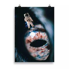 Lámina astronauta | Cosa Bonita | Láminas para cuadros Astronaut, Decorating Rooms, Impressionism, Home Decoration, Pretty, Creativity, Illustrations, Hipster Stuff