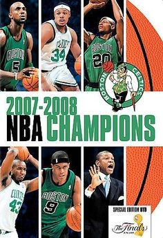 nba finals 2008 dvd