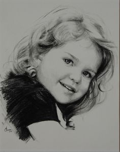 """Charcoal Portrait, head and shoulders, one subject, 8"""" x 10"""" is $300,"""
