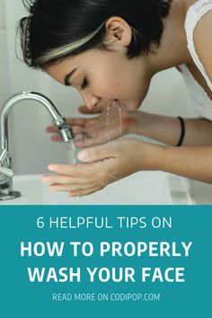 6 Helpful Tips on How to Properly Wash your Face Best Facial Cleanser, Facial Cleansers, Wash Your Face, Face Wash, K Beauty Routine, Skincare Routine, Beauty Tips, Oil Based Cleanser, Dry Skin Remedies