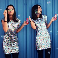 Sequin Party Dress, you can never have too many sequins