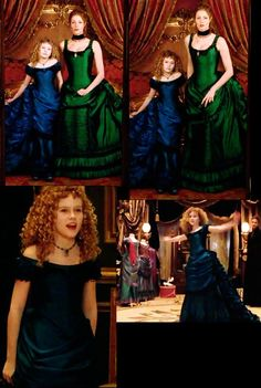 omg those dresses! (screencaps from interview with a Vampire)