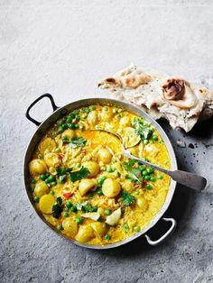 Pea & potato curry