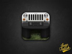Dribbble - Jeep Wrangler App Icon - iPhone / iPad by Luca Torresan