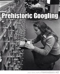 Prehistoric Googling....