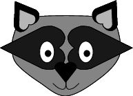 for animal study...raccoon craft connection