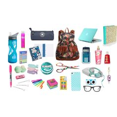 """""""What's In My School Bag"""" by silverliningshots on Polyvore"""