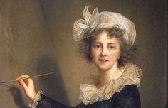 Élisabeth Vigée Le Brun : La artista ejecutando un retrato de la reina  Maria  Antonieta (1790)Exposición Grand Palais Vigée Le Brun: La gran dama de los retratos |