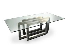 Rectangular dining table REBECCA by Gonzalo De Salas:
