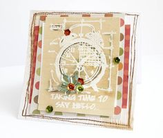 CLock Card - Scrapbook.com