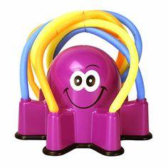 Banzai Wiggling Octopus Sprinkler Banzai http://www.amazon.com/dp/B00CTR512O/ref=cm_sw_r_pi_dp_1gegxb01E6BTE