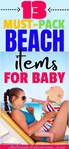 Taking baby to the beach this summer? Then make sure you pack these 13 beach essentials! These beach items for baby will keep your baby or toddler busy and save your sanity so mom and dad can sit down for a min and enjoy the beach! #beach #beachmusthaves #babybeachtrip #babysfirstbeachvacation #babies #babytips #parenting #travel #beachessentials Parenting Toddlers, Parenting Hacks, Beach Trip Tips, Beach Mom, Beach Babies, Finding Out Baby Gender, How To Breastfeed Newborns, Baby Schedule, Beach Items