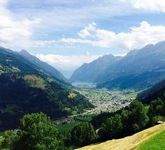 Blick aufs Puschlav, Kanton Graubünden