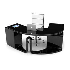 boomerang, la scrivania da ufficio viene interpretata come un ... - Legno Garner Tavolo Da Pranzo Estensione