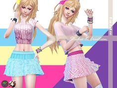 Studio K Creation: Layer skirt • Sims 4 Downloads