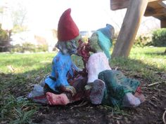This needs to be in my front yard ASAP.....Zombie Gnomes Love a la carte by ChrisandJanesPlace on Etsy, $40.00