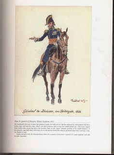 Command and staff: Plate 36: General of Division, Winter Uniform, 1812.