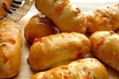 Migdałowiec bez pieczenia - smakuje obłędnie, wychodzi każdemu - Planeta Life Hot Dog Buns, Hot Dogs, Baked Potato, Potatoes, Bread, Baking, Vegetables, Ethnic Recipes, Food