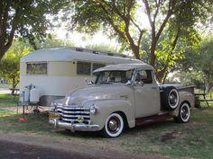 Vintage Camper & truck