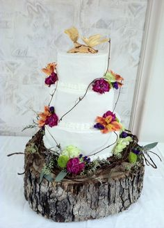 For a rustic wedding