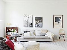 COCOCOZY: APARTMENT DECORATING - 1000 SQUARE FEET IN SWEDEN!