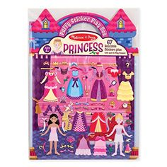 Use the reusable puffy stickers to dress the princesses and fill the play scenes over and over. 67 Reusable Stickers Two sided Fold-and-Go Play Scene Suitable for ages Arts And Crafts For Teens, Art And Craft Videos, Stickers, Fun Craft, Melissa & Doug, Arts And Crafts Movement, Kind Mode, Book Activities, Travel Activities