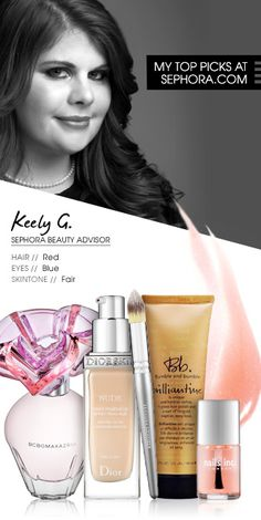 Keely G., Sephora Beauty Advisor. My top picks at Sephora.com #Sephora #SephoraItLists