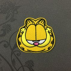 GARFIELD the cat patch iron on patch sewn on patch glued on patch cartoon patch