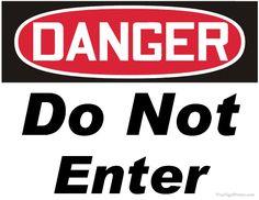 Printable Danger Do Not Enter Sign Do Not Enter Sign, Danger Signs, Diesel Fuel, Printables, Gym, Lettering, Central Asia, Shepherd Dog, Trucks