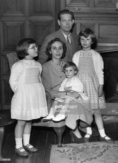 News Photo : Ex King Michael of Romania with his family. He...