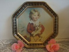 vintage shabby cottage VICTORIAN boy with a by pureblisscottage