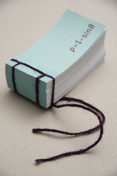 The flipbook shaping a perfect symmetrical heart symbol by using a mathematical equation