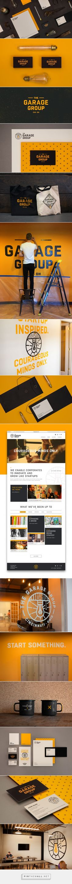 The Garage Group Branding by Hyperquake, LLC | Fivestar Branding Agency – Design and Branding Agency & Curated Inspiration Gallery