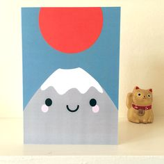 Mt Fuji San Card