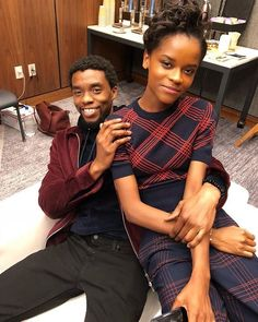 Celebrity & Entertainment | Black Panther: 19 Photos of the Gorgeous (and Badass) Cast Hanging Out in Real Life