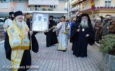 Η θαυματουργός Εικόνα της Παναγίας Φανερωμένης από την Καστοριά στην Ιερά Μητρόπολη Βεροίας