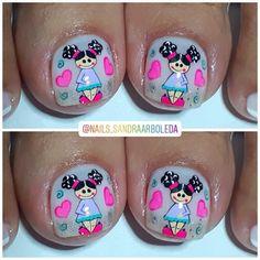 Pedicure, Nails, Instagram, Work Nails, Amor, Toe Nail Art, Finger Nails, Pedicures, Ongles