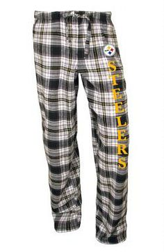 Pittsburgh Steelers Women's Crossroad Flannel Pants - Official Online Store
