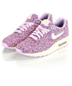 Pepper Liberty Print Air Max 1 Trainers. NEED.