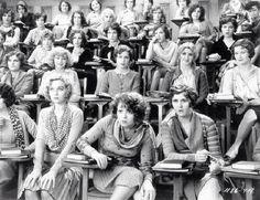 Sex education class 1929