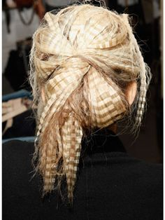 Holiday Hairstyles 2011 - Winter Hairstyles - Marie Claire
