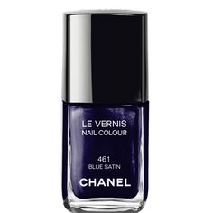 Chanel's Blue Satin