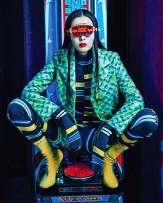 Sung Hee Kim by Zoo Yongyun for Vogue Korea September 2015