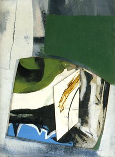 PETER LANYON -   GWENNAP, 1964  oil and collage on board