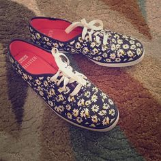 Hollister flower keds Brand new Hollister Keds. Size 7.5. Never worn. keds Shoes Sneakers